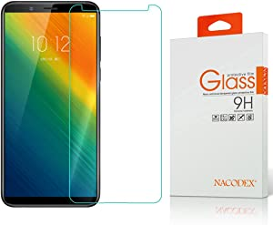 Lenovo K5 Note Screen Protector,NACODEX Tempered Glass Screen Protector for Lenovo K5 Note (2018) Ultra Clear Scratch Resistant Glass Protector