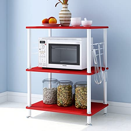TRRE Creative Three Layers Kitchen Shelving Landing Microwave Ovens - Abt microwaves