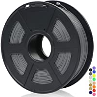 ANYCUBIC 3D Printer 1KG 1.75mm Filament PLA, 3D Printing PLA Filament for 3D Printers & 3D Pens (Grey)