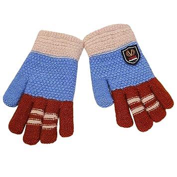 24c890c8249b72 Vacally 子供用 ベビー キッズ 女の子 男の子 手袋 厚手 ミトン 柔らかい アウトドア 冬 暖かい 可愛い 模様
