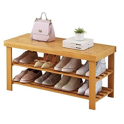Strange Amazon Com Storage Benches Shoe Racks Multi Layer Bamboo Customarchery Wood Chair Design Ideas Customarcherynet