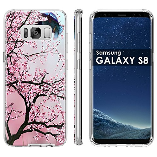 Samsung Galaxy [S8] Phone Case [ArmorXtreme] [Clear] Designer Image [Flexi Gel TPU] [5.8