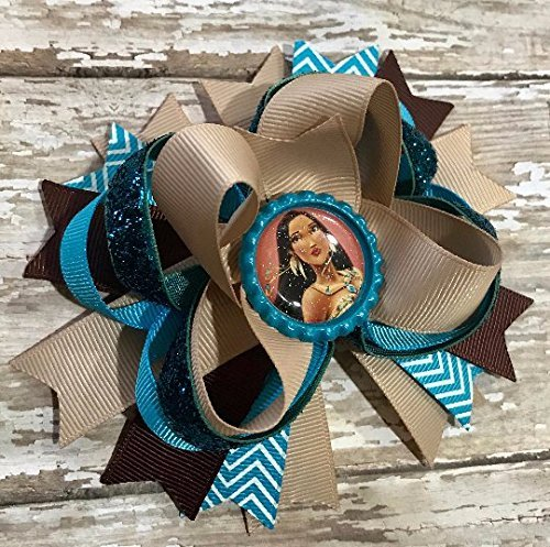 Brave Blue Bow Baby Headband Hair Accessories
