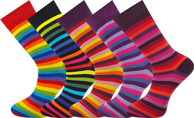 Mysocks® 5 pares de calcetines de hombre Extra fino de algodón peinado sin costura: Amazon.es: Ropa y accesorios