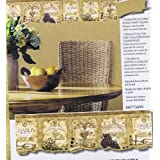 HomeTrends Wall Border AW77384N Wine Labels Design 15 ft x 7 in