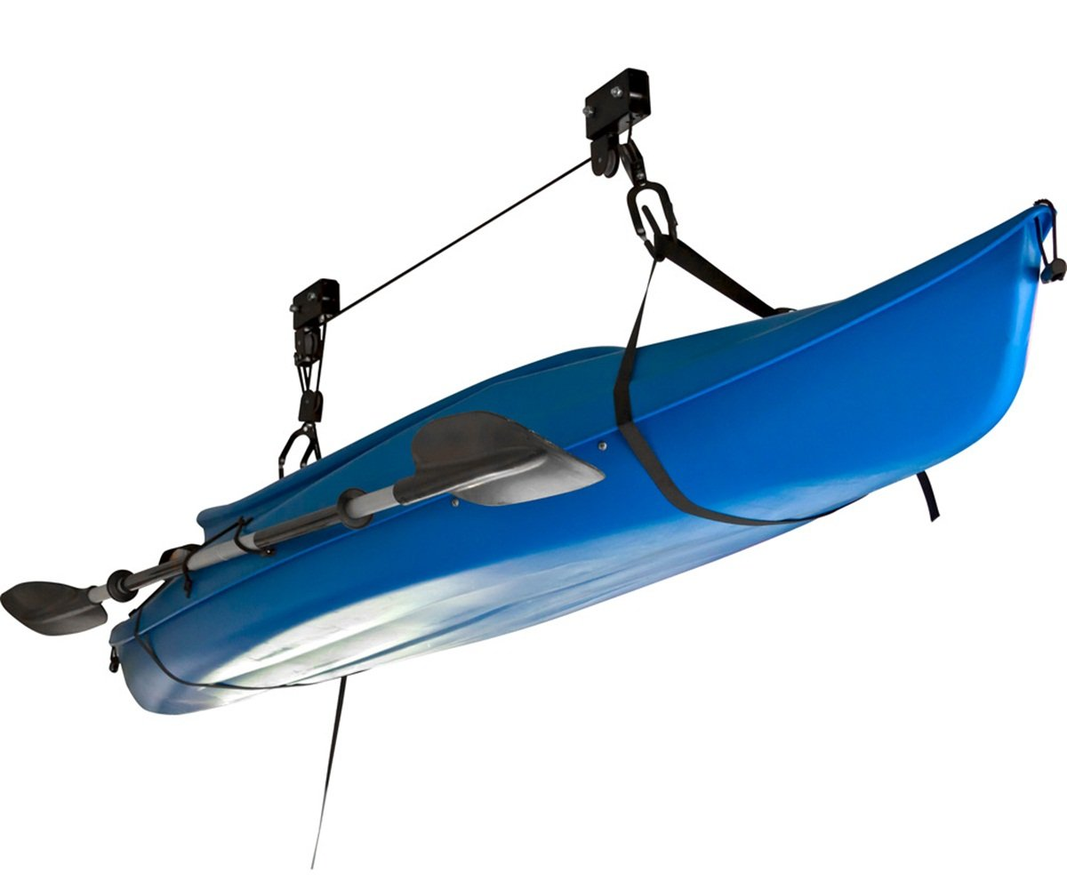 of rack for as build storage garage hangers diy pvc the with size conjunction well also in a full hoist kayak
