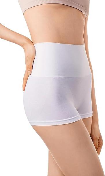 +MD Culotte Moldeador de Talle Alto sin Costuras para Mujer Pantalones Cortos Culotes: Amazon.es: Ropa y accesorios