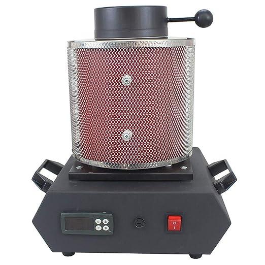 LHRGYY Horno de fusión automático, con crisol de Grafito 220V ...