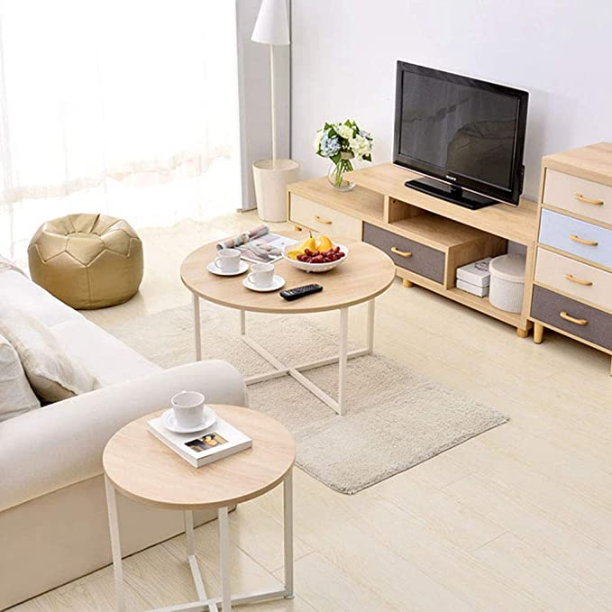 Mesa de Centro, pequeño salón multifunción sofá Mesa de Arte ...