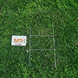 MTB H Frame Wire Stakes 20 x10-inch (Pkg of 25) 9ga