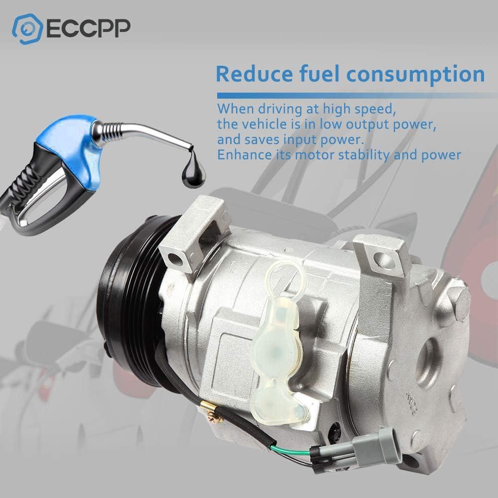 AC Compressor w// A//C Repair Kit For Chevy Suburban 1500 /& GMC Yukon XL 2500
