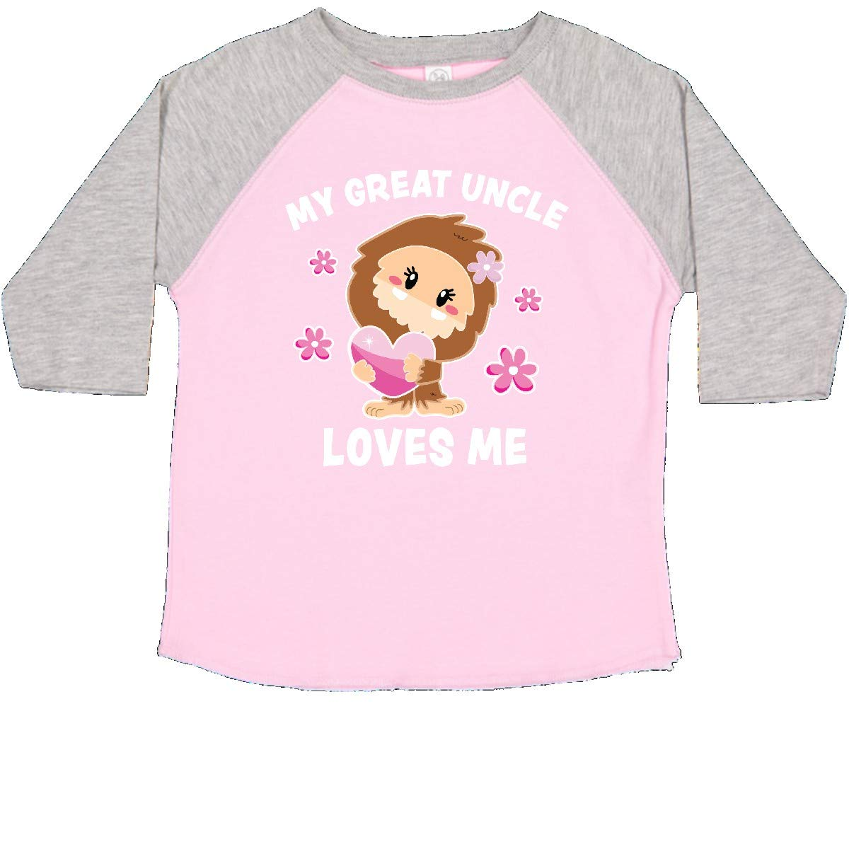 inktastic My Great Uncle Loves Me with Bigfoot Toddler T-Shirt