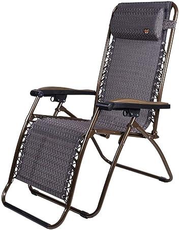 YLXBH Sillones reclinables de jardín, sillones, sillones reclinables, reposabrazos Anchos, sillones, terrazas de jardín, sillas Plegables de jardín, Cojines: Amazon.es: Hogar