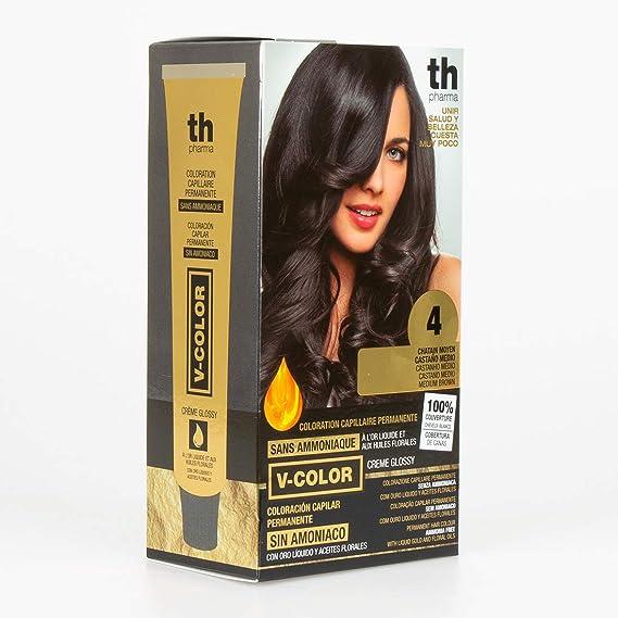 Thader Th Pharma V-Color Sin Amoniaco Kit Coloración Capilar ...