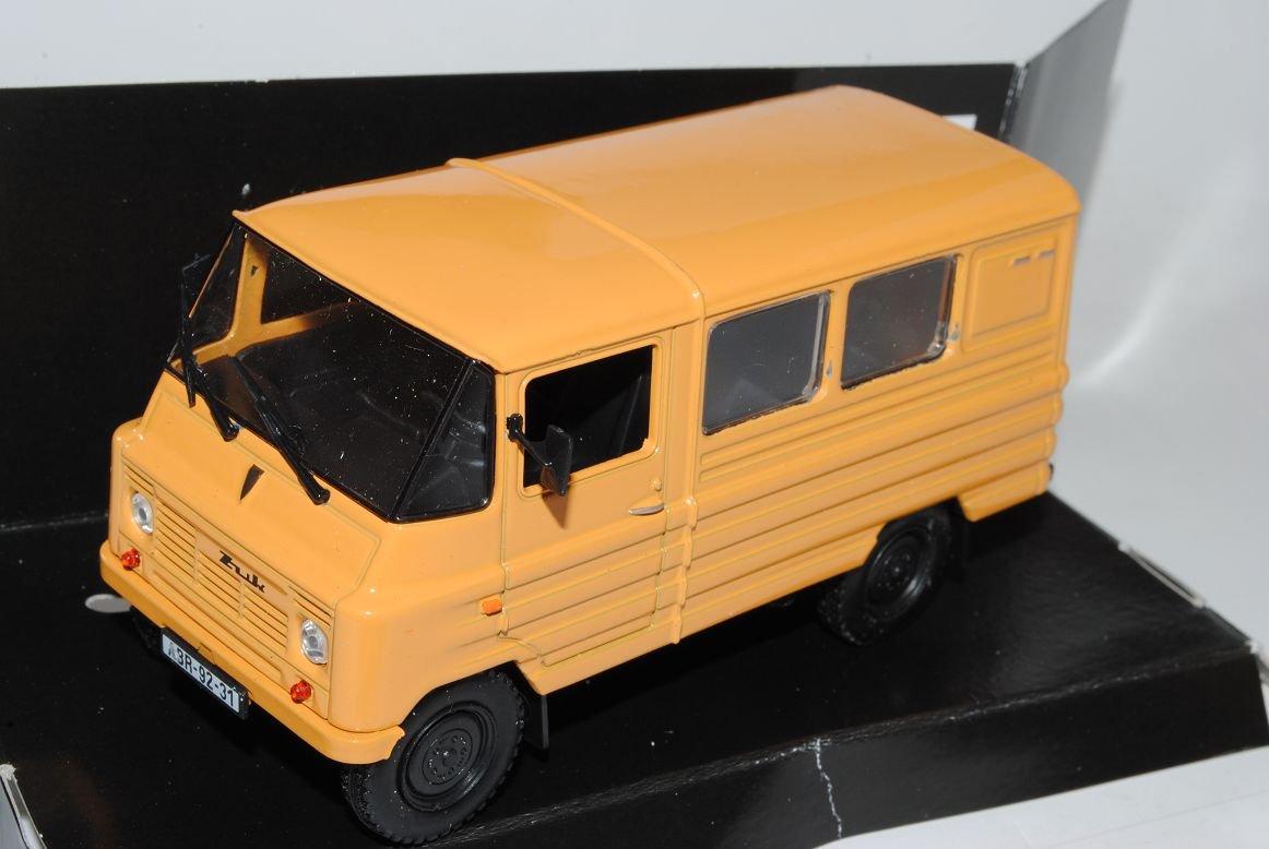 Unbekannt ZUK A 07 Transporter Orange 1//43 Nash Avtoprom Modell Auto mit individiuellem Wunschkennzeichen