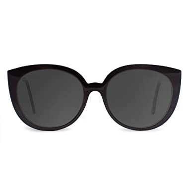 42838e981d1d CAPITAL Eyewear Womens Sunglasses - Chloe Series (Black)  Amazon.co ...