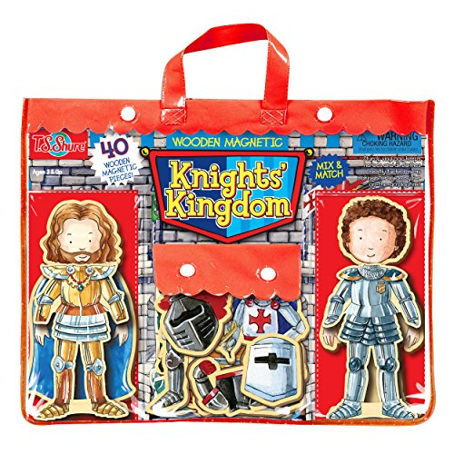 [T.S. Shure Knights' Kingdom Wooden Magnetic Heroes] (Childrens Dressing Up Knights Outfit)