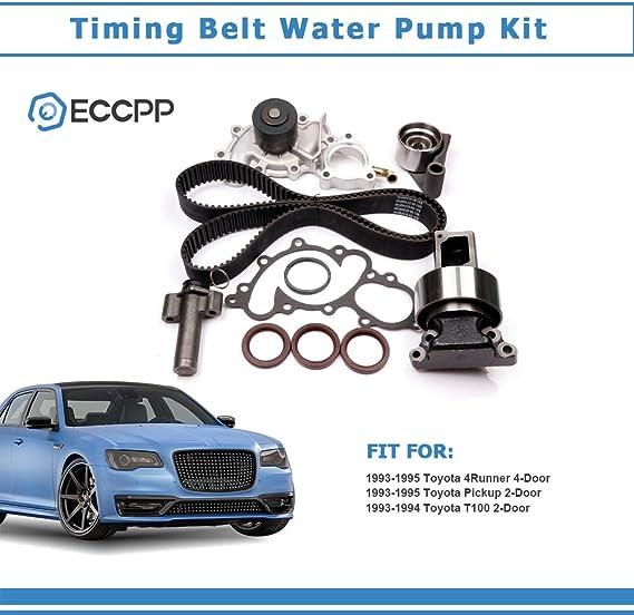 Evergreen TBK240HPHWPA Race Series Timing Belt Kit AISIN Water ...