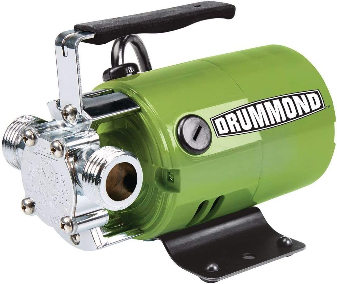 DRUMMOND 1/10 HP Transfer Pump 320 GPH