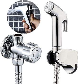Bidet Toilet Sprayer Set Hand Held Bidet Sprayer For Toilet Attachment Pet Dog Bath Bathroom Cleaning And Personal Hygiene Amazon Ca Tools Home Improvement