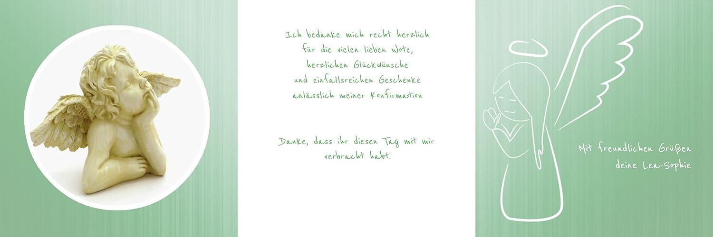 Weitere Anlässe   Dankeskarte Konfirmation_Angel     30 Karten (format  145.00x145.00mm) Farbe  Rosa B075CPGZLS   Verschiedene Arten und Stile    Genialität    Erste in seiner Klasse  e237de
