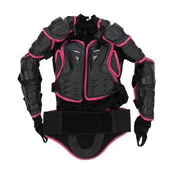 Funnyrunstore Motocross Dirt Bike Chaqueta de armadura de cuerpo completo Pecho de codo de hombro Cobertura de plástico Quad Motocicleta Protect Suit ...