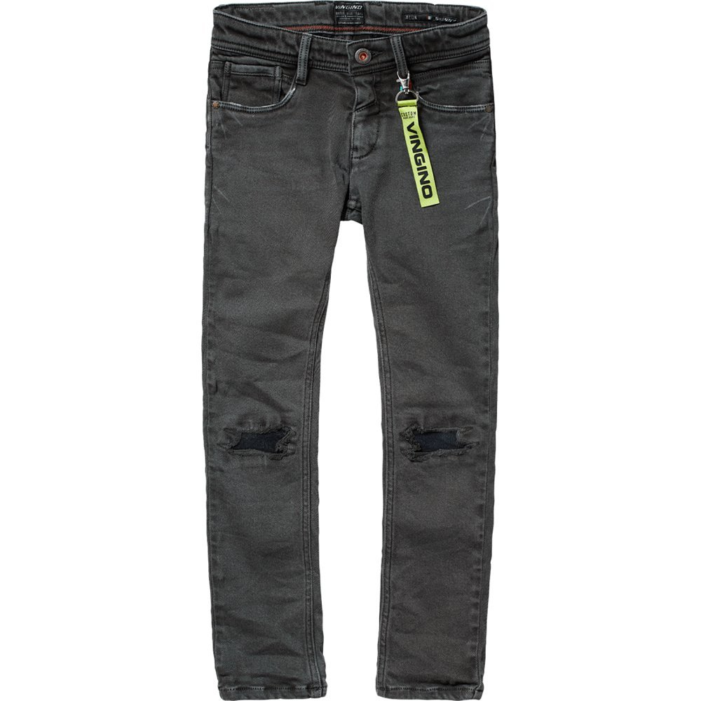 Vingino Jungen Boys Jeans Hose ALON Slim Fit dark iron
