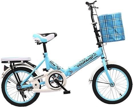 YEARLY Bicicleta Plegable Estudiante, Bicicleta Plegable Infantil ...
