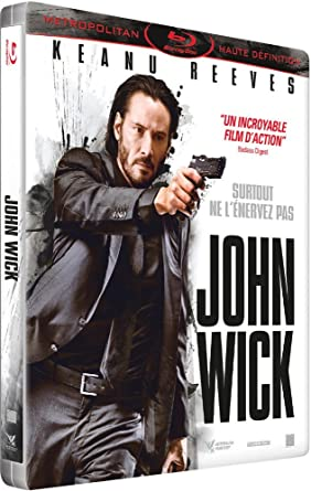 John Wick Exklusiv Limited Steelbook Edition Blu Ray Fr Import