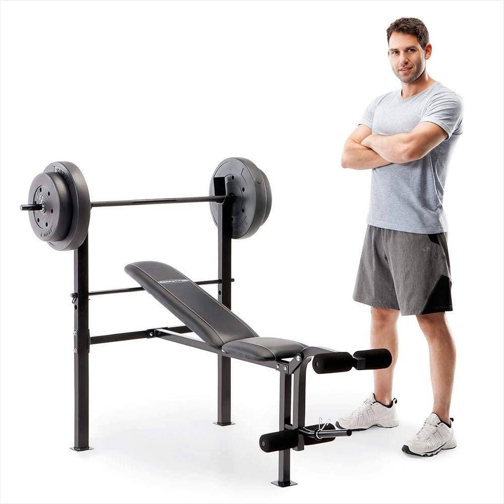 Competitor Standard Bench 80 LB. Weight Set