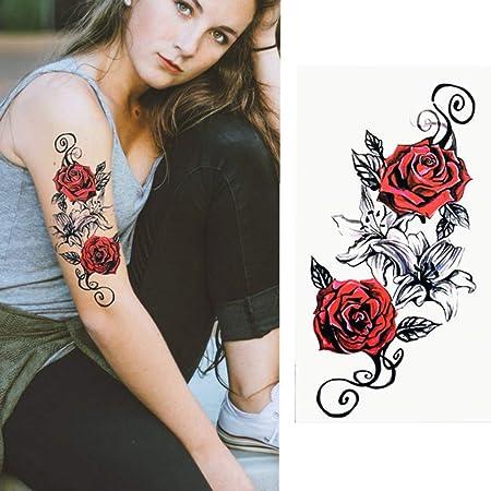 Handaxian 3pcs Pegatinas Tatuaje del Brazo Impermeables señoras de ...