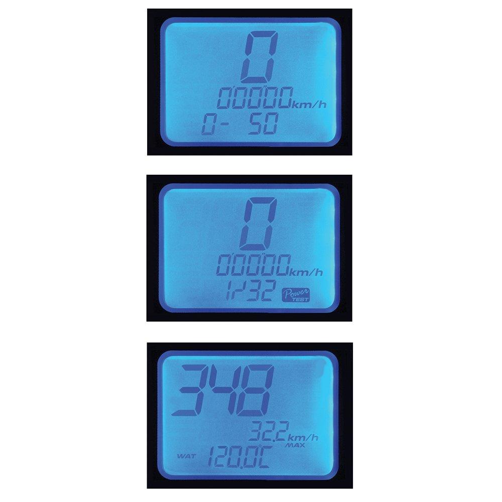 Amazon.com: Koso BA015B15 RX-2N GP Style Multifunction Meter (10 000 ...