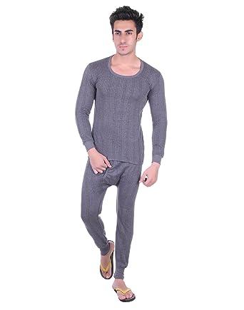 714e2d21109 Unix Men s Grey Thermal Set Winter Wear (Top + Bottom) (UN3607- P ...