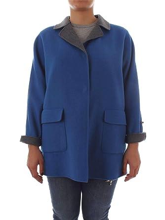 Laine Manteau Rinaldi 10832980blue Marina Femme Bleu By Persona SY1z77
