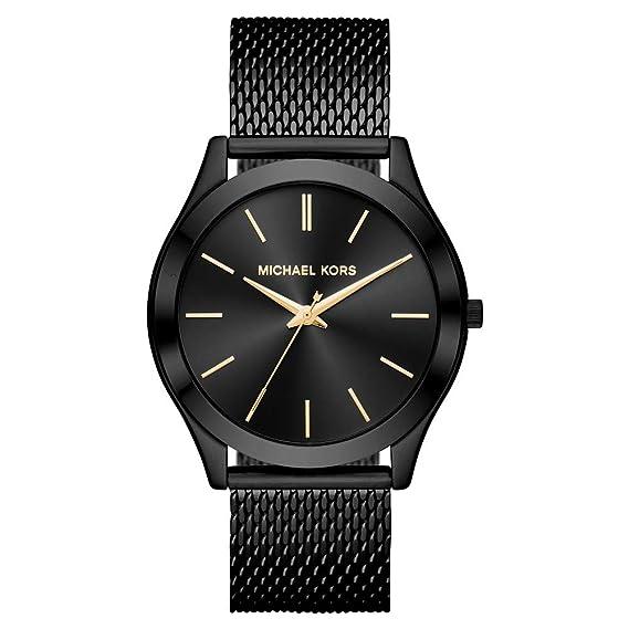 Michael Kors Reloj Analogico para Hombre de Cuarzo con Correa en Acero Inoxidable MK8607: Amazon.es: Relojes