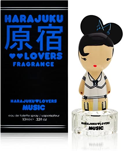 Gwen Stefani Harajuku Lovers Eau de Toilette for Her, 10 ml Music