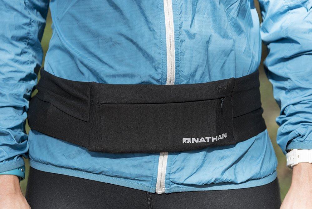 Nathan 7702 The Zipster Running Waist Belt