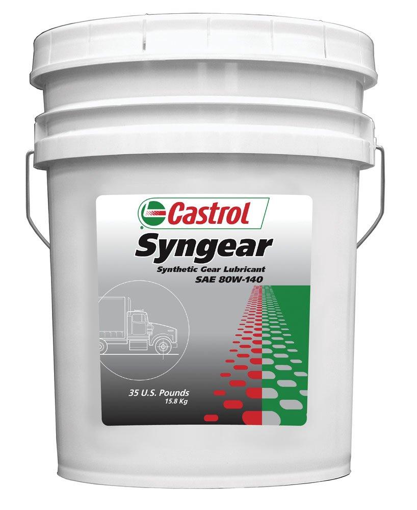 Castrol 37517 Syngear 80W-140 Gear Lubricant - 35 lb. by Castrol
