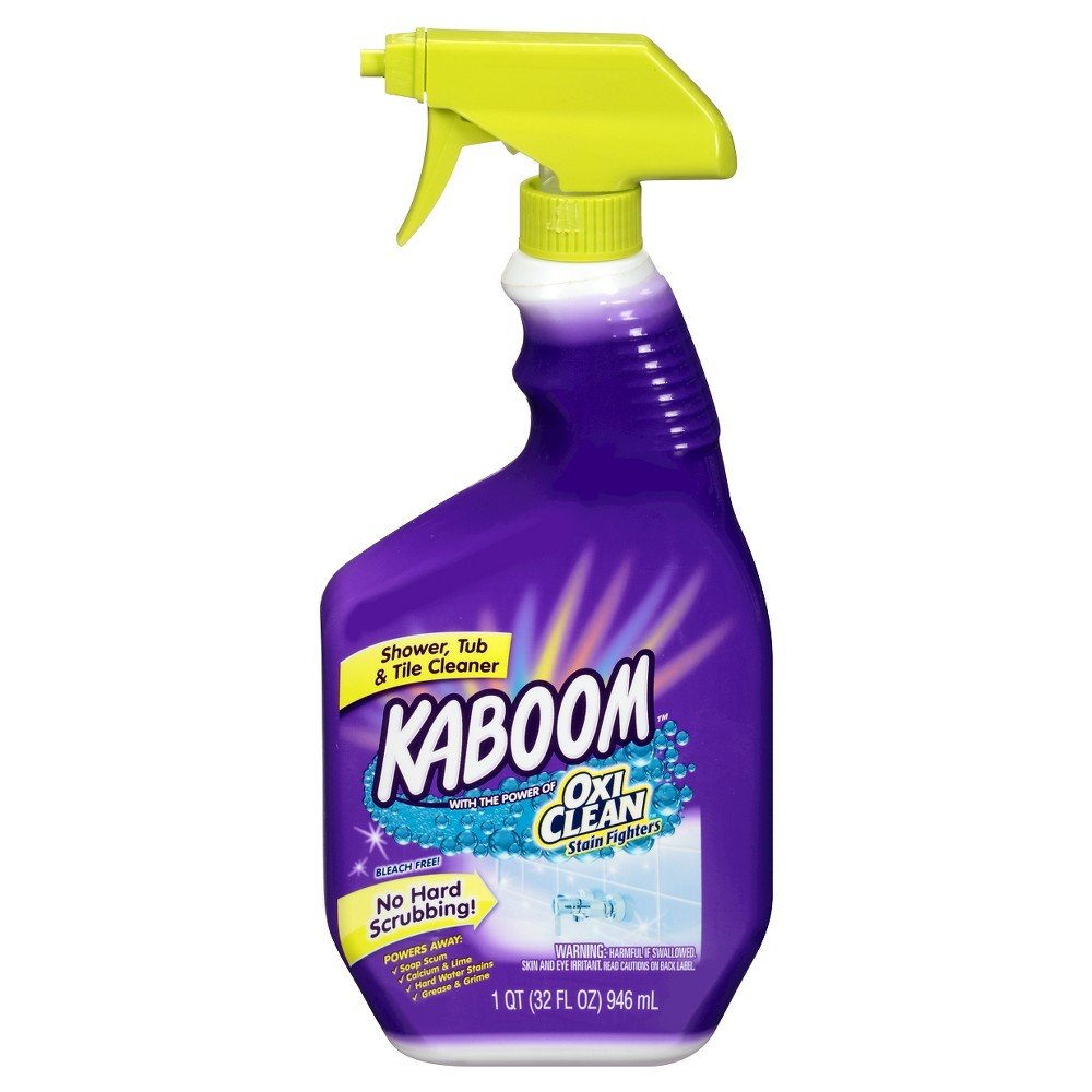 Kaboom Shower, Tub & Tile Cleaner with Oxi Clean 32 oz by Kaboom