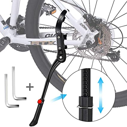 Bike Kickstand MTB Adjustable Road Bicycle Holder Rear Side Kick Stand Universal