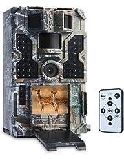 TOMSHOO Cámara de Caza 16MP 1080P, 0.2S Tiempo de Disparo, 130° Gran
