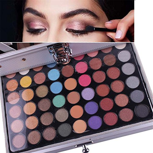 Pure Vie 132 Colors All in one Makeup Gift Set including 94 Highly Pigmented Shimmer and Matte Eyeshadow palette, 12… 4