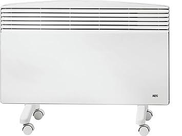 AEG WKL 2503 F Blanco 3000W Radiador - Calefactor (Radiador, 1,5 m, Piso, Blanco, Metal, 3000 W): Amazon.es: Hogar