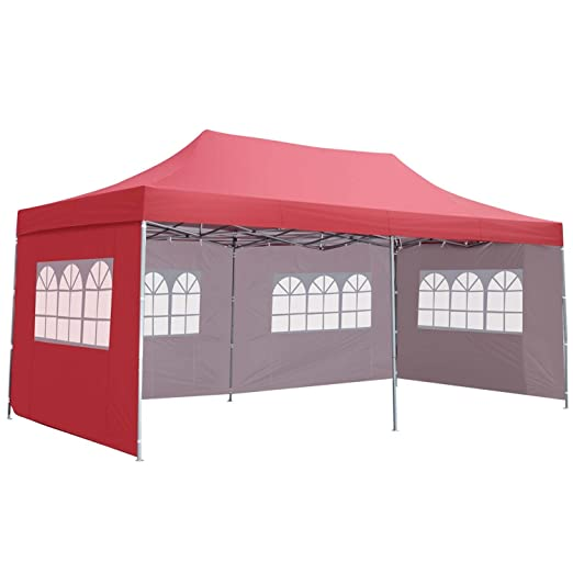 Outdoor Basic 10 x 20 ft Pop Up toldo Tienda de Fiesta Boda Gazebo ...
