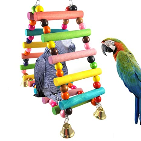 CoURTerzsl Juguete para Loro, Colorido para Mascotas, pájaros ...