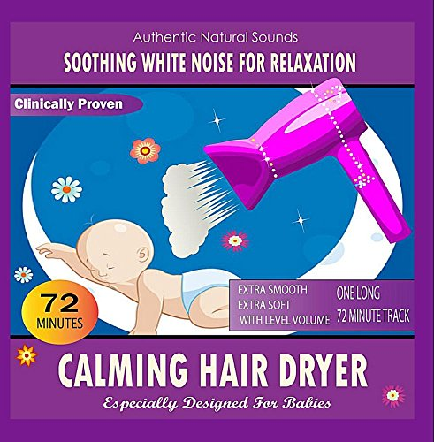 Price comparison product image Calming Hair Dryer (Especially Designed For Babies)