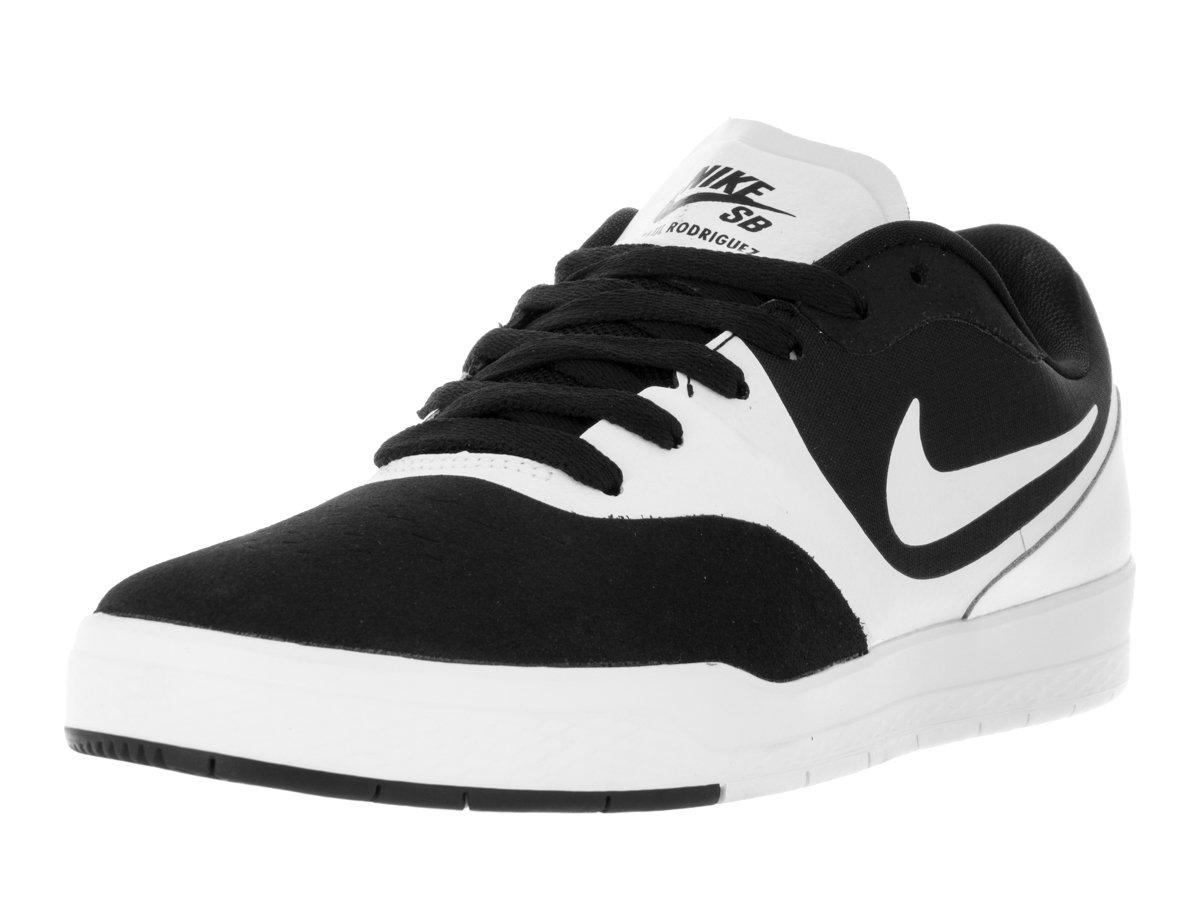 dc68fc381bf43 NIKE Men's Paul Rodriguez 9 CS Black/White/White Skate Shoe 7.5