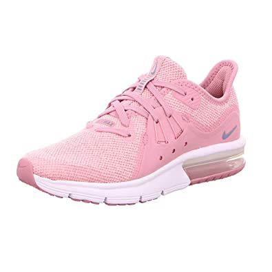 Nike Air MAX Sequent 3 (GS), Zapatillas para Mujer, (Elemental Ashen Slate/Pink/White 001), 40 EU: Amazon.es: Zapatos y complementos