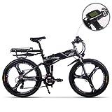RICH BIT TP860 電動アシスト自転車 折りたたみ 26インチ MTBマウンテンバイク 脱着式バッテリー 電動自転車 36V*12.8AH 法律に合う 公道で走ることができる 防范登録もできる