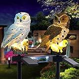 Missbee Garden Solar Lights Outdoor,OWL LED